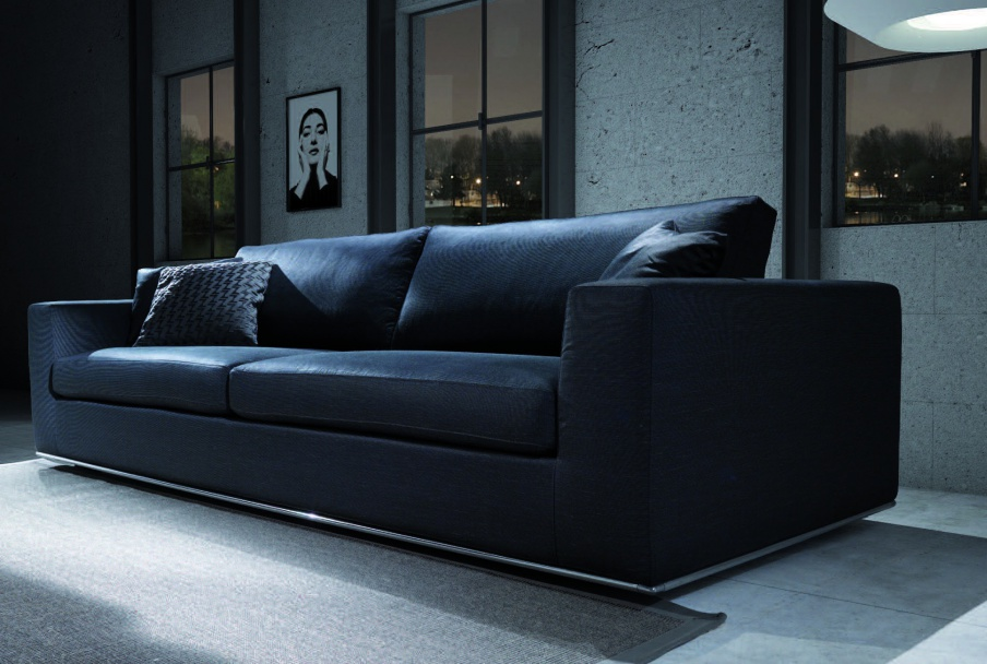Dreibettzimmer Sofa Miami - Asnaghi (Made in Italy)