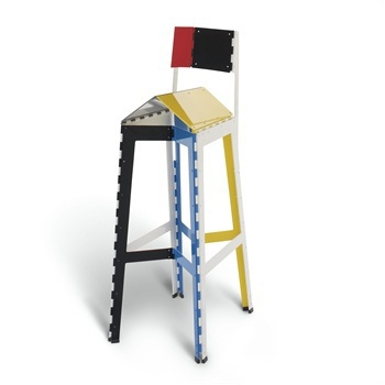 Барный стул Stitch Stool, Cappellini