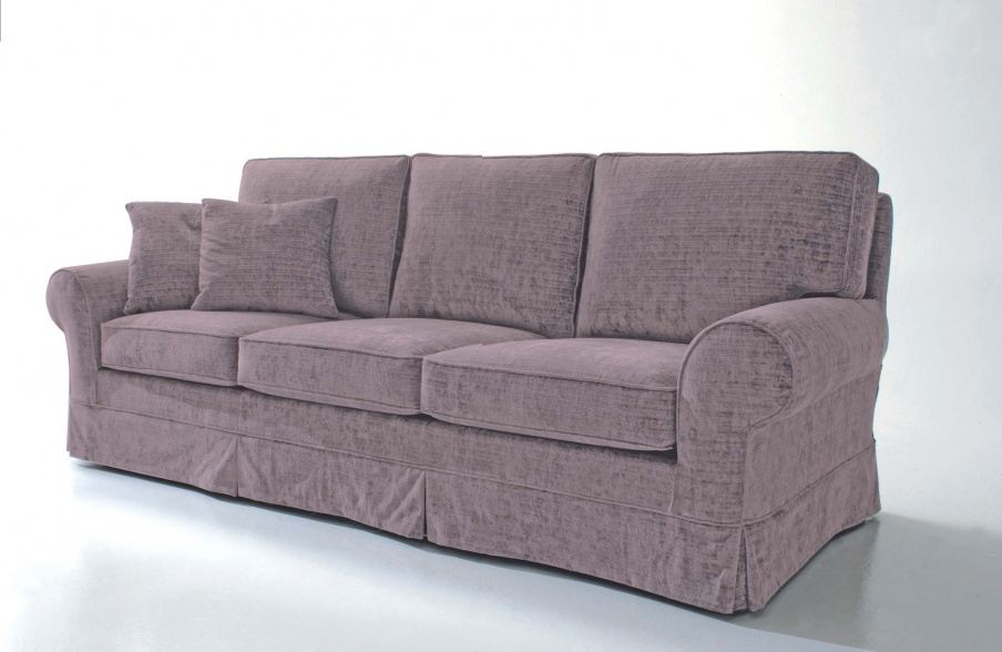 Dreibettzimmer Sofa Ottocento, Asnaghi (Made in Italy)
