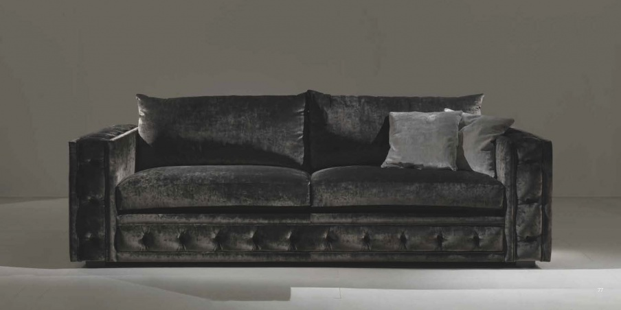 Zweisitzer-Sofa Oscar, Asnaghi (Made in Italy)