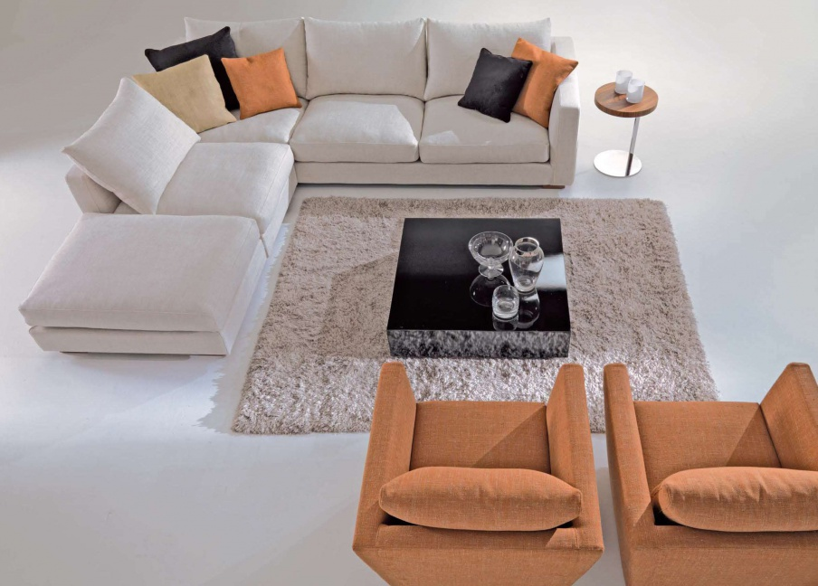 Ecksofa Key West, Asnaghi (Made in Italy)