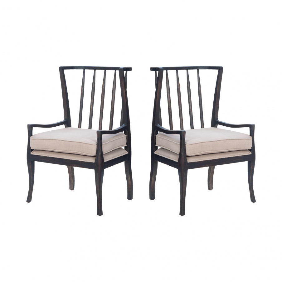 Sessel Wing Arm-Chair - Pair Guild Master